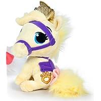 Disney - Peluche Mascotas Palace Pets - Blondie 15 cm (caballo amarillo)