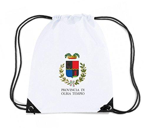 T-Shirtshock - Zaino Zainetto Budget Gymsac TM0119 provincia di Olbia Tempio citta, Taglia Capacita 11 litri