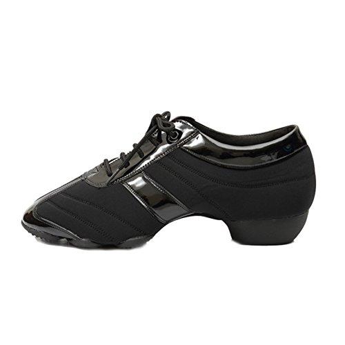 moderne scarpe da ballo degli uomini/Ms. Piazza adulti/scarpe da ballo latino/due fondo/insegnanti Shoes-A Lunghezza piede=26.8CM(10.6Inch)