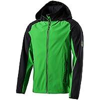 McKinley Herren Funktions Softshell Jacke Trundle grün schwarz 19a9630f2c