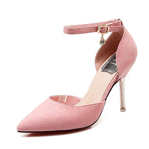 XTIAN , Hi-Top Slippers femme rose bonbon