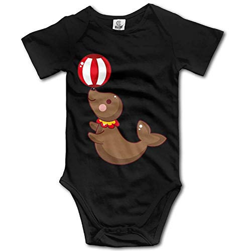 Kostüm Lion Sea - TKMSH Unisex Baby's Climbing Clothes Set Sea Lions Bodysuits Romper Short Sleeved Light Onesies for 0-24 Months