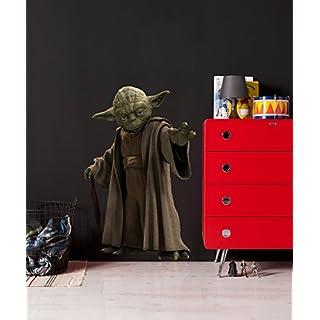 Komar - Star Wars - Deco-Sticker YODA - 100 x 70 cm - Wandtattoo, Wandsticker, Wandaufkleber, Wandbild,  Jedi, Jedi-Meister, Rebellen, Galaxy - 14721h