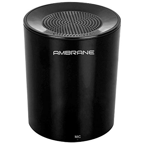 Ambrane BT-1200 Wireless Portable Bluetooth Speaker with Aux in/TF Card Reader/Mic. (Black)