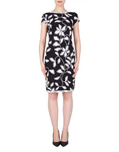 Joseph Ribkoff Women's Dress Multicolour Black/Vanilla