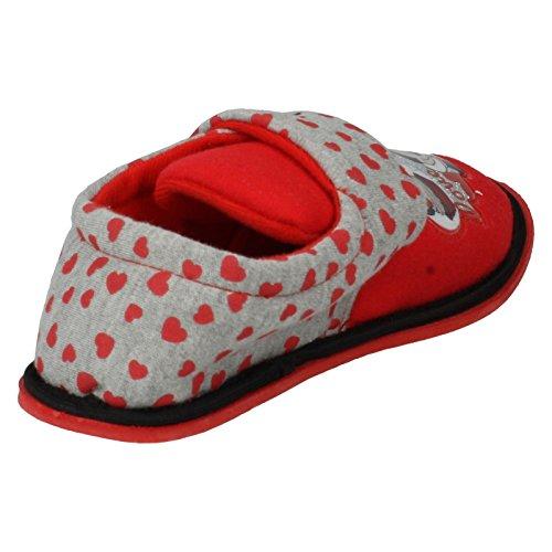 Disney ,  Mädchen Durchgängies Plateau Sandalen mit Keilabsatz Rot
