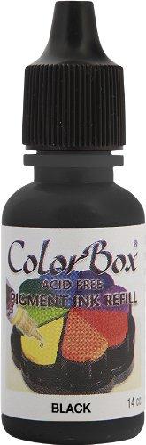 ColorBox Pigment Tinte Refill-Black - Schwarz Refill Pigment Tinte