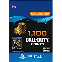 1,100 Call of Duty : Black Ops 4 Points - 1100 Points DLC | PS4/PS3 Download Code - UK Account