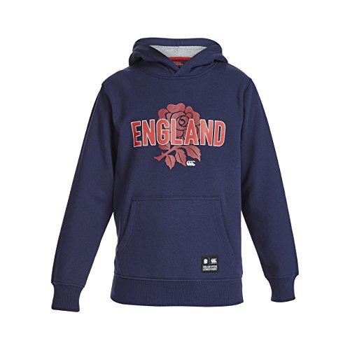 Canterbury Jungen England OTH Hoody 36 blau