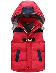 DAYAN Invierno Puffer algodón acolchado chaqueta muchachos de los niños 'Chaleco