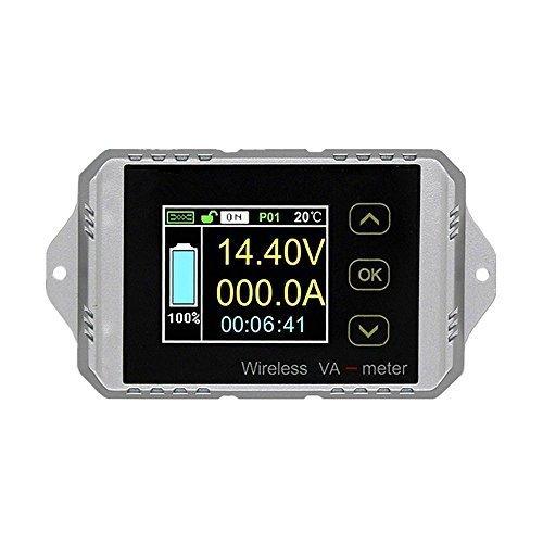 Medidor voltaje corriente monitor batería inalámbrico