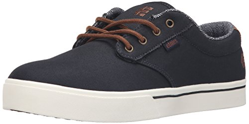 Etnies Jameson 2 Eco, Scarpe da Skateboard Uomo, Blau (Navy/Brown/White / 480), 41 EU