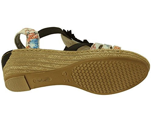 Rieker Ladies 62461-90 Sandali Blu (90)