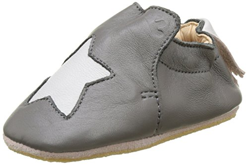 Easy Peasy Blublu Etoile, Chaussons Mixte Bébé Gris (brume/inwi)