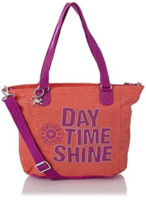 Kipling Women's Shopper Combo S Shoulder Bag, Salmon Pink
