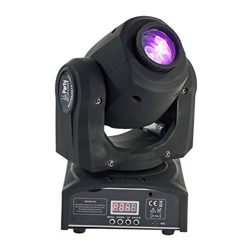 Party SPOT7 - Cabeza móvil LED