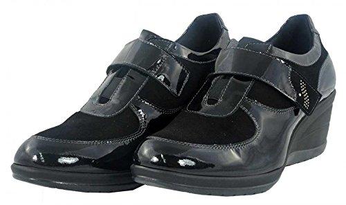 Susimoda - Sneakers con zeppa - Susimoda Donna - 8650/11 - 38, Nero