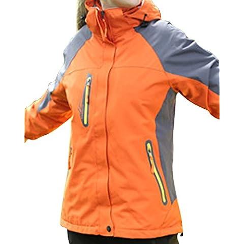 LaoZan Chaqueta de Invierno Chaqueta de Esquí Chaqueta Deportiva - Impermeable y Cortaviento - Mujer - Color 1