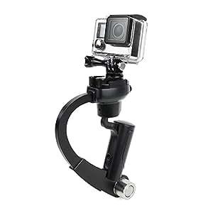Valuetom ® Mini Rotule stabilisatrice pour caméra GoPro Hero 2/3/4/3, coloris Noir