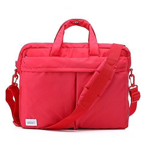 Laptop/Handtasche/Aktenmappe für Frauen, Notebook Computer Tablet Ärmel Laptop Tasche Messenger Griff Aktentasche Staubbeutel für Apple MacBook Pro/Air Series 2 Pink 33,8 cm (13,3 Zoll) Series 3 Red