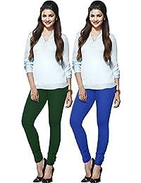 Lux Lyra Women`s Indian Churidar Leggings Pack Of 2