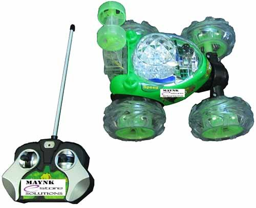 Rechargeable STUNT Racer Remote Control Car Kids Toys Battery Operated RC Music  available at amazon for Rs.649