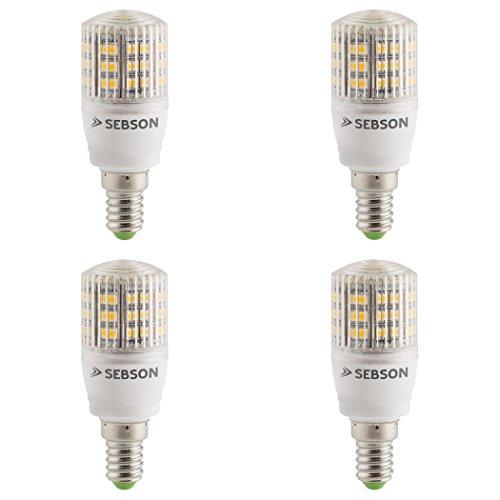 SEBSON® 4er-Pack E14 LED 3W Lampe - vgl. 25W Glühlampe - 240 Lumen - E14 LED warmweiß - LED Leuchtmittel 160° 160 Lumen Led