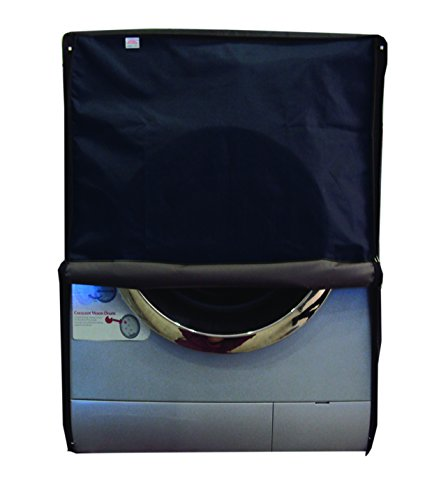 DreamCare Navy Blue Waterproof & Dustproof Washing Machine Cover For Front Load Bosch WAK20160IN SERIE 4 7 Kg Washing Machine