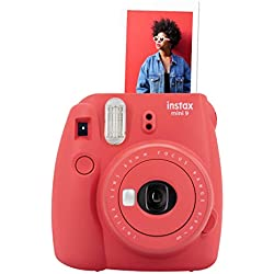 Fujifilm Instax Mini 9 - Poppy Red Appareil photo instantané Rouge