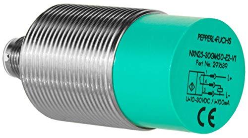 Pepperl + Fuchs Induktiver Sensor - Induktive Näherungsschalter NXN25-30GM50-E2-V1 25 mm PNP Schließer (NO) 3-Draht DC - 10-30 V 100 mA -