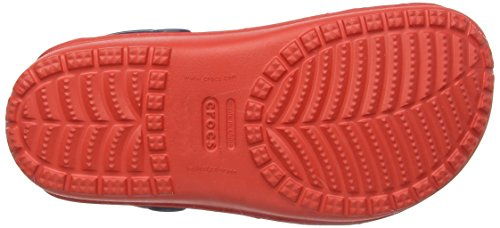 Crocs Duet Wave, Sabots mixte adulte Bleu (Nautical Navy/Flame)