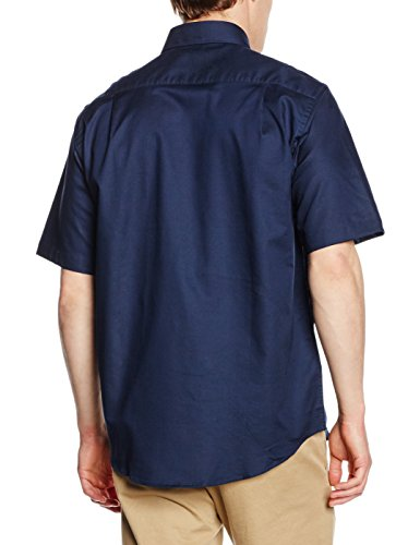 Fruit of the Loom Herren Businesshemd blau (marineblau)