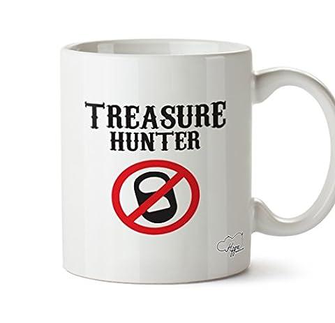 hippowarehouse Treasure Hunter 283,5Tasse, keramik, weiß, One Size (10oz) (Treasures Keramik-becher)