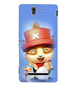 ColourCraft Cartoon Back Case Cover for SONY XPERIA C3 D2533