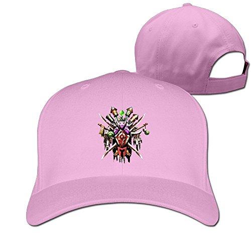 thna-world-of-warcraft-logo-adjustable-fashion-baseball-cap-pink