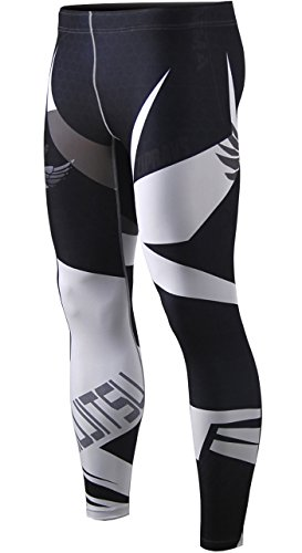 Zipravs Herren Damen Unterwäsche KompressionHose Compression Long Tights ZFCP-68