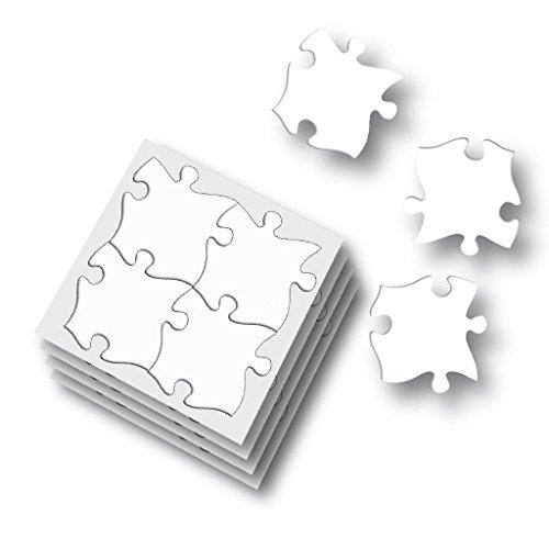 2 Blanko-Riesen-Puzzle-Teile ()