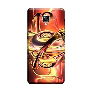 Ebby Premium 3d Desinger Printed Back Case Cover For OnePlus Three (Premium Desinger Case)