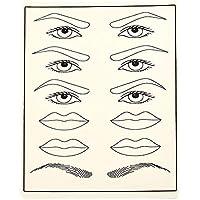 Training-Augenbraue-Leder-Tätowierungs-Simulations-Praxis-Haut-künstliche Lippen