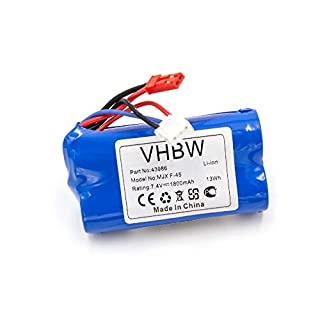 vhbw Li-Ion Battery 1800 mAh (7.4 V) for Model Making Like Revell 24056, 2406, 43986, 440704