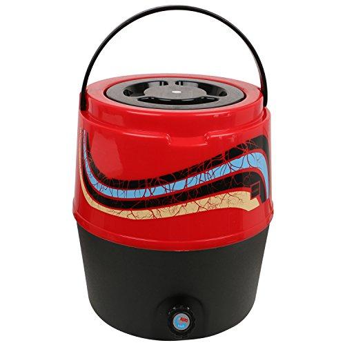 Cello Kool Star Water jug, 5000 ml, Red Colour