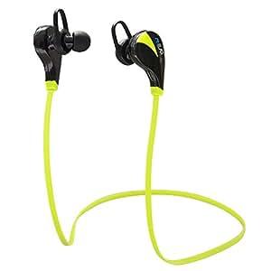 Casque Bluetooth stéréo sans fil, écouteurs intra-auriculaires pour le sport, la course à pied