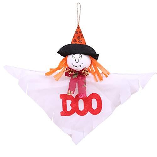 (Gaddrt Kreative Halloween-Anhänger, dekoriert aus Filz, Halloween, sonnige Puppe a)