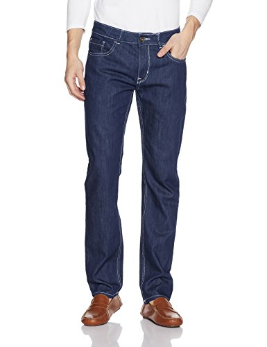 Diverse Men's Relaxed Fit Jeans (DVD02D1L01-2e_Dark Indigo Blue_30W x 32L)