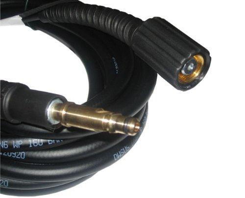 9m Hochdruckschlauch für KÄRCHER Hochdruckreiniger 160 bar 65° M22 IG und Quick Connect Anschluss