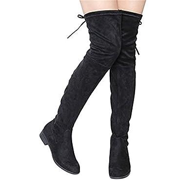 Women Fashion - Botas Altas Planas