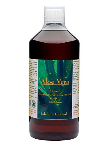 DARMVITAL Aloe Vera Trink Saft 1000 ml - IASC Zertifizierung (Milde Aloe)