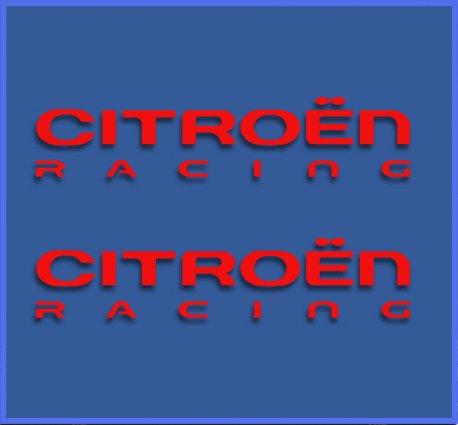 pegatinas-citroen-racing-dr1017-vinilo-adesivi-decal-aufkleber-stickers-car-voiture-sport-racing-roj