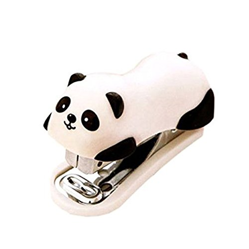 NUOLUX Mini Hefter Büro Heftgerät Panda