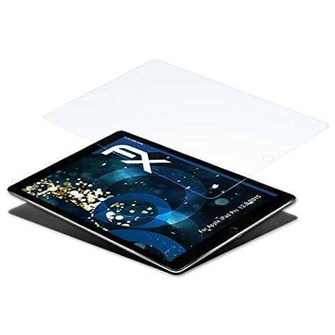 Apple iPad Pro 12,9 (2015) Folie - 2 x atFoliX FX-Shock-Clear stoßabsorbierende ultraklare Panzerfolie (Apple 12)